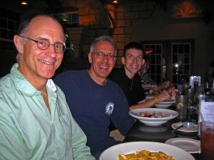 Frank, Steve and Dan