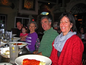 Lisa, Tony, Carin, Brian, and his daughter.
