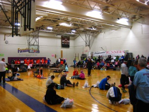 Gym at Forest City H.S.