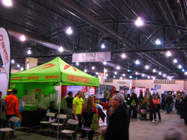 Philadelphia Marathon expo.