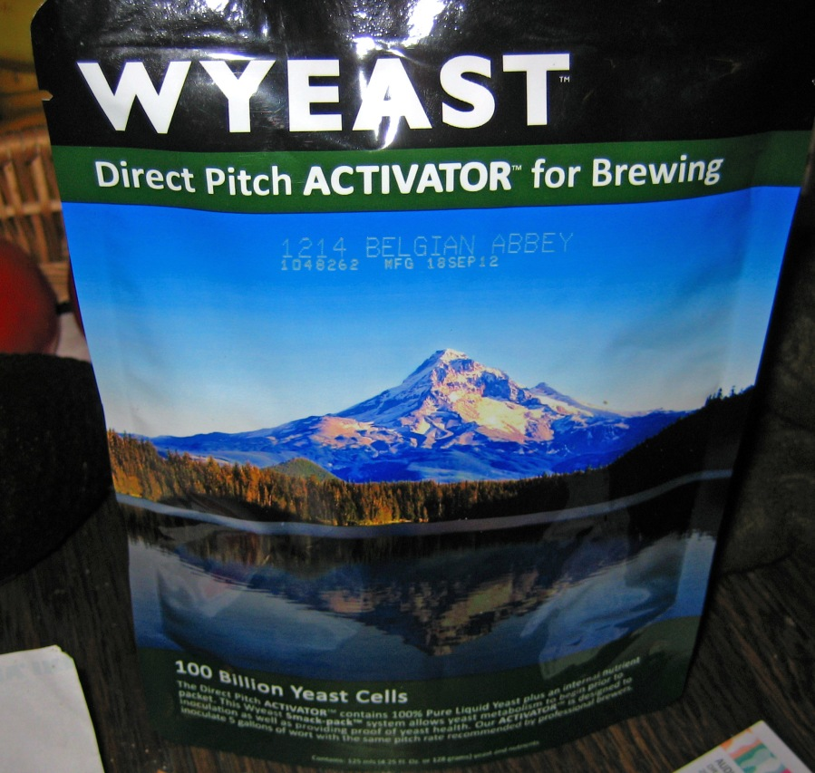 Package of yeast