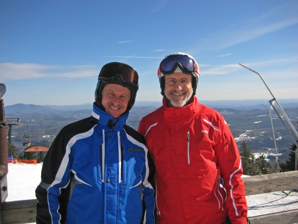 Frank and his friend Keith at Okemo.