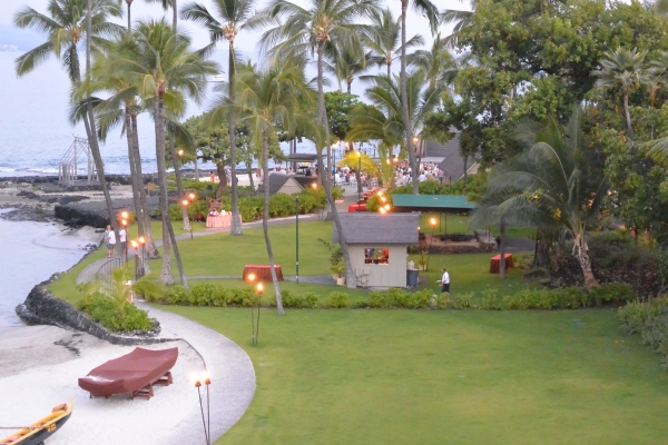 View from our balcony, King Kamehameha hotel