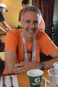 Steve, who suffered the most this marathon.