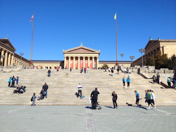 "Philadelphia Art Museum, and the ""Rocky Steps"""