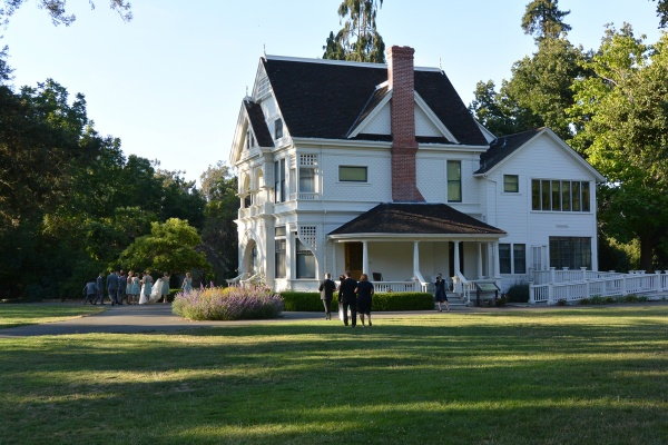 George Patterson house at Ardenwood Farms.
