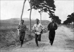 Training for 1896 Olympics